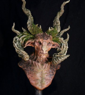 The Forest Lord, Satyr Bust