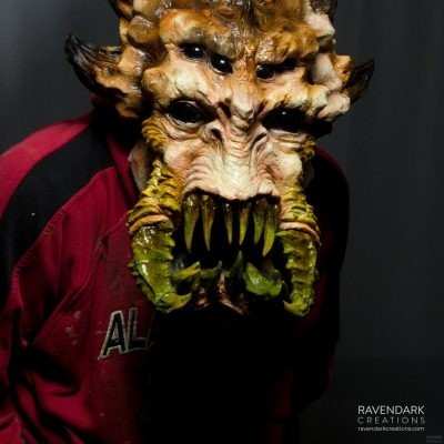 Spider Alien Movie Monster Mask