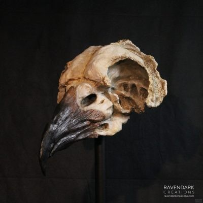 Oversized Skull Plague Doctor Mask